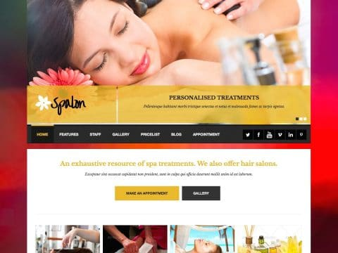 Spalon WordPress Theme