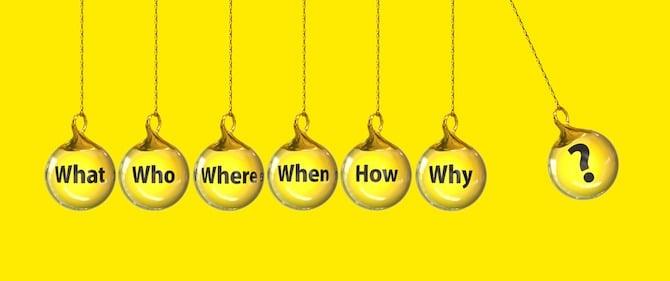 Questions Pendulum