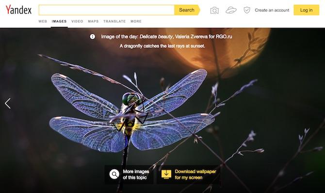 Yandex Image Search