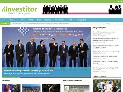 Investitor Screenshot