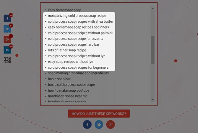 LSIgraph - Homemade Soap Recipes