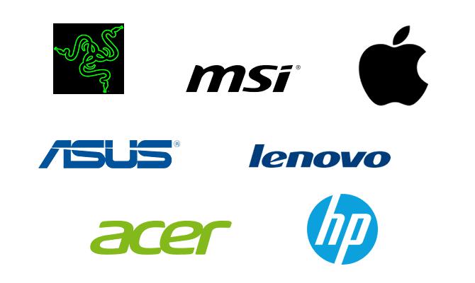 Logos Laptop Manufacturers