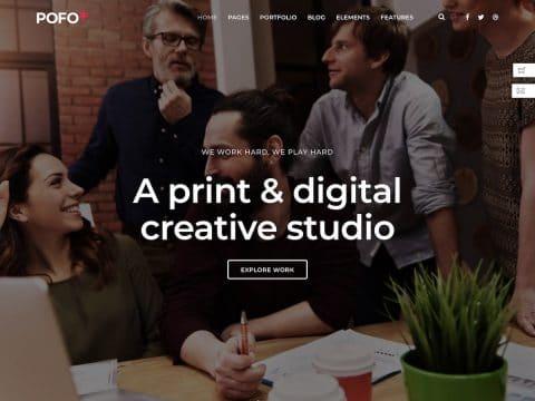 Pofo WordPress Theme