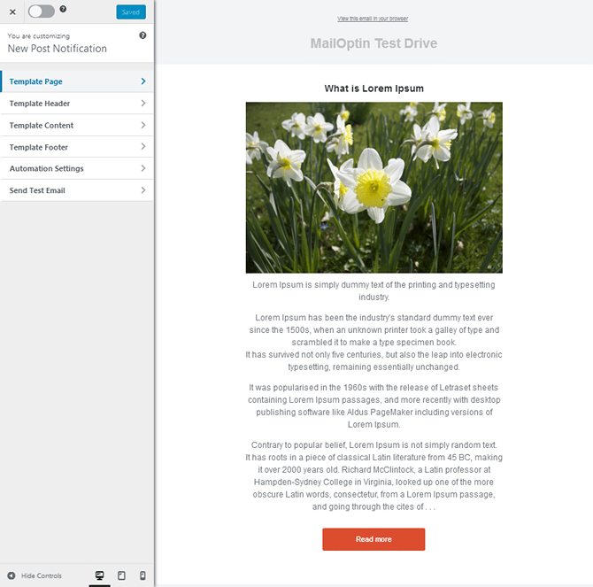 MailOptin New Post Notification Lucid Template