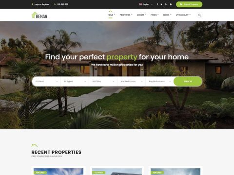 Benaa WordPress Theme