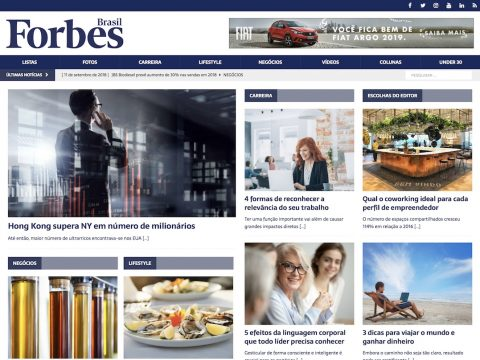 Forbes Brasil Screenshot