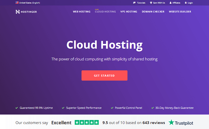 Hostinger Cloud Hosting
